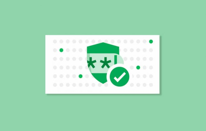 Google Chrome password protector